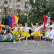 "Folklore dancing group ""Mosaic"" — Stock Photo #9536246"