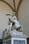 Hercules fighting with centaur Nessus, a mythological tale. — Stock Photo