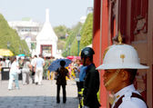 Soldier of Thailand Royal Army at The Royal Palace — Stock Photo