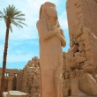 Karnak temple - Egypt, Luxor — Stock Photo