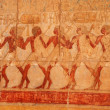Picture in the temple of Queen Hatshepsut (Egypt) — Stock Photo