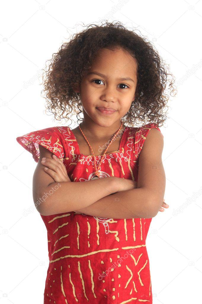 Enfants Afro Am 233 Ricaine Belle Fille Avec Des Cheveux
