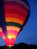 Hot Air Balloon Glow — Stock Photo