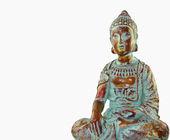 Buddha On White — Stock Photo