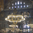 Interior of Hagia Sofia, Istanbul — Stock Photo