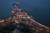 Egirdir, ciudad en la península — Foto de Stock