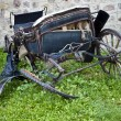 Stock Photo: Broken chariot