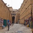 Stock Photo: Town street in Jaisalmer