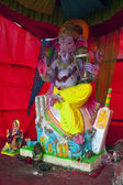 Colorful statue of Ganesha — Stock Photo