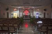 Interior of a church in Chennai — Stock Photo