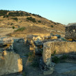Ruins of ancient city Hierapolis — Stock Photo #9068080