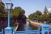 Río en la ciudad de eskisehir — Foto de Stock
