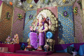 Colorful statue of Ganesh — Stock Photo