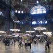 Interior of HagiSofia, Istanbul — Stock Photo #9302623