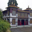 Buddhist monastery in Darjeeling — Stock Photo