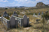 Village cemetery — Stock Photo