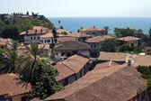 Roofs of old town in Antalya — Foto Stock