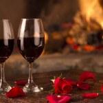 Romance toast — Stock Photo