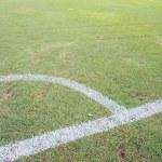 Corner of a football (soccer) — Stock Photo #10726162