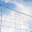 Soccer nets — Stock Photo