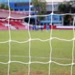 Soccer nets — Stock Photo #10726178