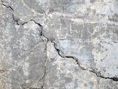 Concrete wall cracks — Stock Photo