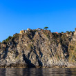 Stock Photo: Traditional Village of Corniglion Top of Hill in Cinque Te