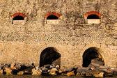 Train Bridge at Sunset in Cinque Terre, Italy — Stock Photo
