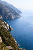 Beautiful Coastline of Cinque Terre, Italy — Foto Stock