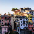 The Medieval Village of Corniglia at Morning, Cinque Terre, Ital — Stock Photo