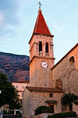 Saint Mark's Church in Makarska, Croatia — 图库照片