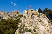 Old Pirate Castle in the Town of Omis, Croatia — Stock Photo
