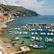 Royalty-Free Stock Photo: Panorama of Dubrovnik Marina, Croatia