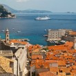 Panorama of Dubrovnik from the City Walls, Croatia — 图库照片
