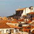 View of Dubrovnik Rooftops from the City Walls, Croatia — Stock Photo #8801774