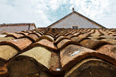 Tiled Roof in Dubrovnik, Croatia — Stock Photo