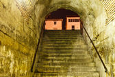 Porte de bronze dans le palais de dioclétien à split, croatie — Photo