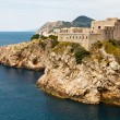 Fort Lovrijenac in Dubrovnik, Croatia — Stock Photo