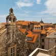 View of Dubrovnik Rooftops from the City Walls, Croatia — Stock Photo