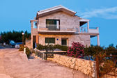 Traditional Dalmatian House at Sunset in Croatia — Stock Photo