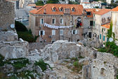 Houses Ruins in Dubrovnik, Croatia — Stock Photo