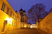 Alexander Nevsky Church in Tallinn at Night, Estonia — Stock Photo