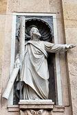 Marble Sculpture of Jesus Christ in Genoa, Italy — Stock Photo