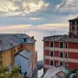 Evening in Village of Camogli near Genoa, Italy — Stock Photo #9411937