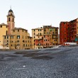 Stock Photo: Church in Village of Camogli at Morning, Italy