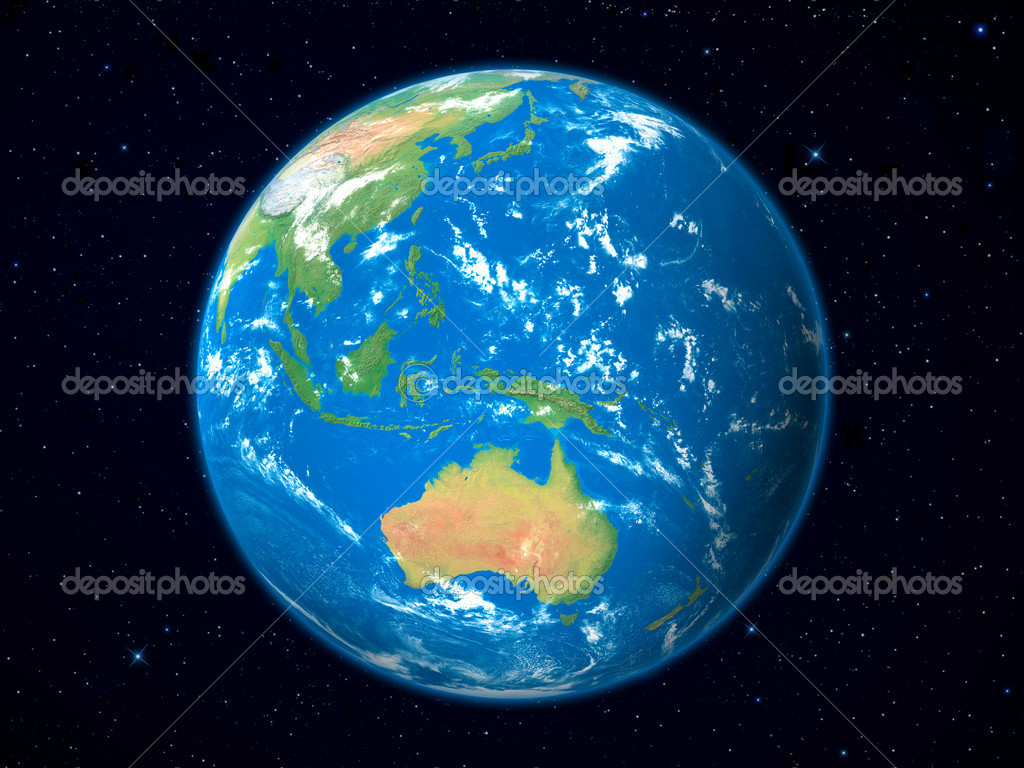 Planet Earth 3d Model 3d Render of Planet Earth