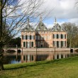 Castle Duivenvoorde in Voorschoten. — Stock Photo #10195717