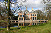 Castle Duivenvoorde in Voorschoten. — Stock Photo