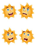 Funny sun like funny icon — Stock Vector