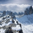 Tre cime di laveredo, dolomites, italy — Stock Photo
